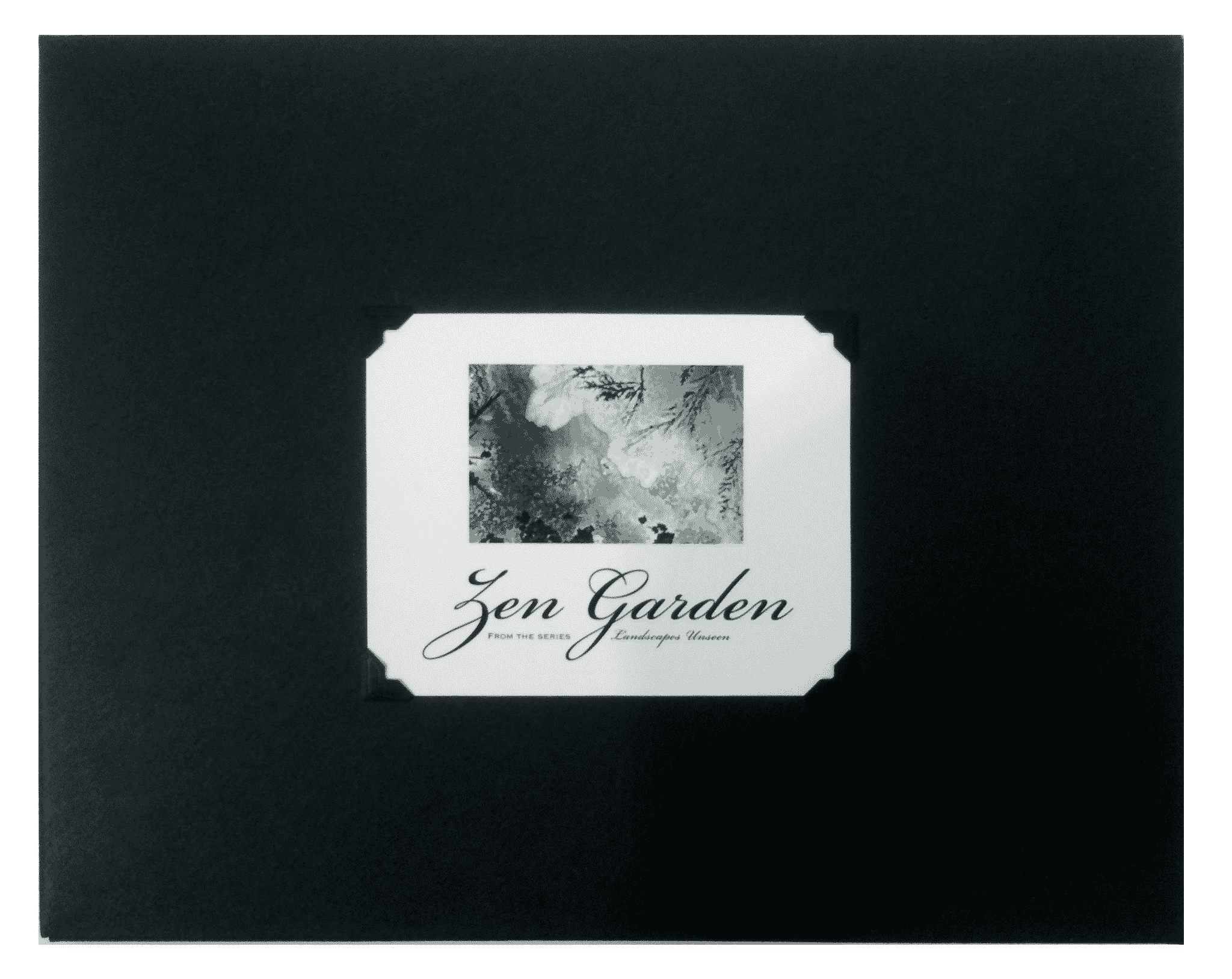 The Zen Garden Folio Contains Ten 8.5 X 11 Inch Photograph. Each Photograph  Is Individually Printed By The Artist On Hahnemuhle Bamboo Paper Using  Archival ...